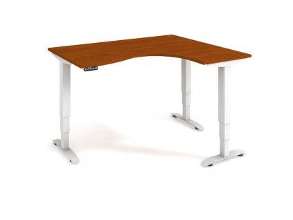 Motion - Ergo elektr. stav. stůl 160x120 cm, levý, paměť. ovlad.