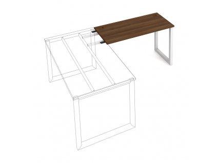 Uni O - Stůl pracovní délky 120 cm (hloubka 60 cm) k řetězení
