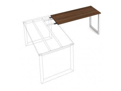 Uni O - Stůl pracovní délky 140 cm (hloubka 60 cm) k řetězení