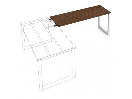 Uni O - Stůl pracovní délky 160 cm (hloubka 60 cm) k řetězení