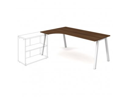 Uni A - Stůl ergo 180 x 120 cm, pravý