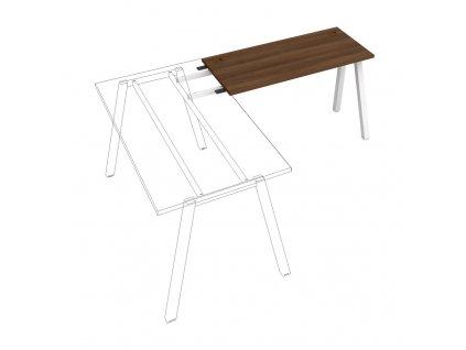 Uni A - Stůl pracovní délky 120 cm (hloubka 60 cm) k řetězení