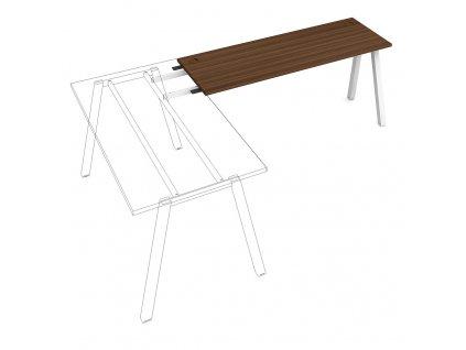 Uni A - Stůl pracovní délky 160 cm (hloubka 60 cm) k řetězení