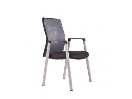 Jednací židle, 14A11, modrá