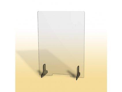 Ochranná clona, 65 cm, nízký otvor