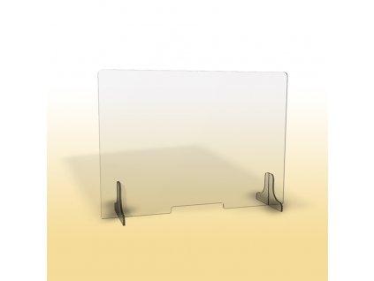 Ochranná clona, 90 cm, nízký otvor