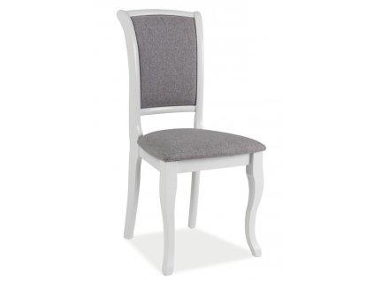 Jídelní čalouněná židle MN-SC šedá