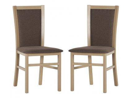 Jídelní čalouněná židle MARE 101 (2ks) sonoma