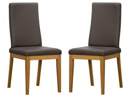 Jídelní čalouněná židle DEGO (2ks) Cayenne výběr barev