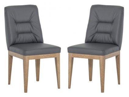 Jídelní čalouněná židle FELINO (2ks) Cayenne výběr barev