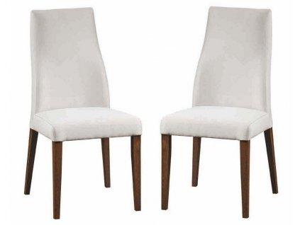 Jídelní čalouněná židle SOLARO (2ks) Carabu výběr barev