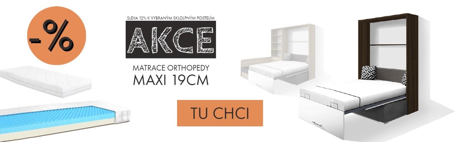 akce sleva 12% matrace orthopedy maxi postele sklopné s pohovkou bez pohovky malé byty