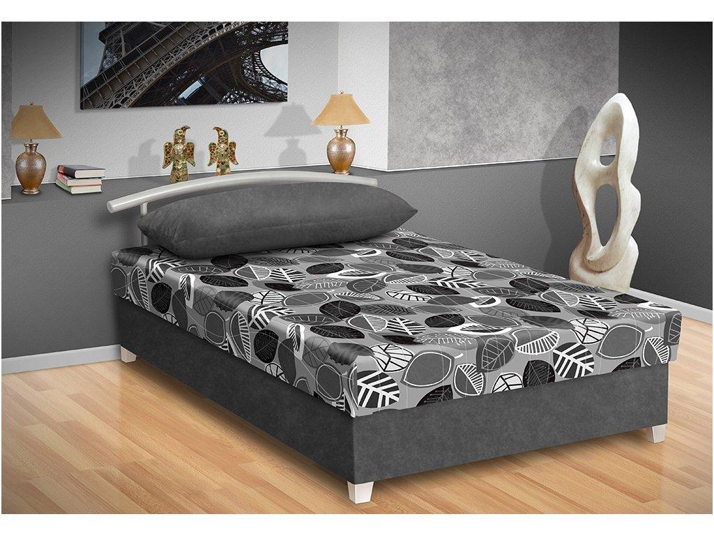 Levná postel s úložným prostorem Katy