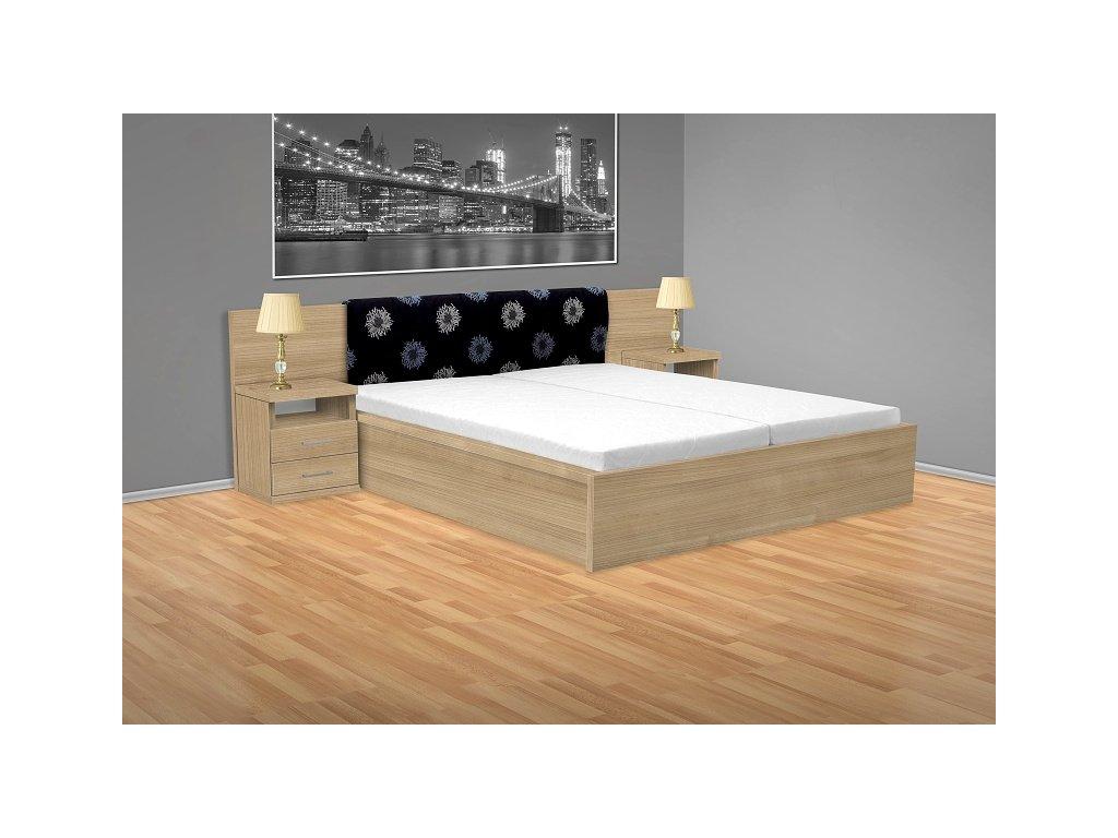 Manželská postel Gama 200x180 cm s rošty
