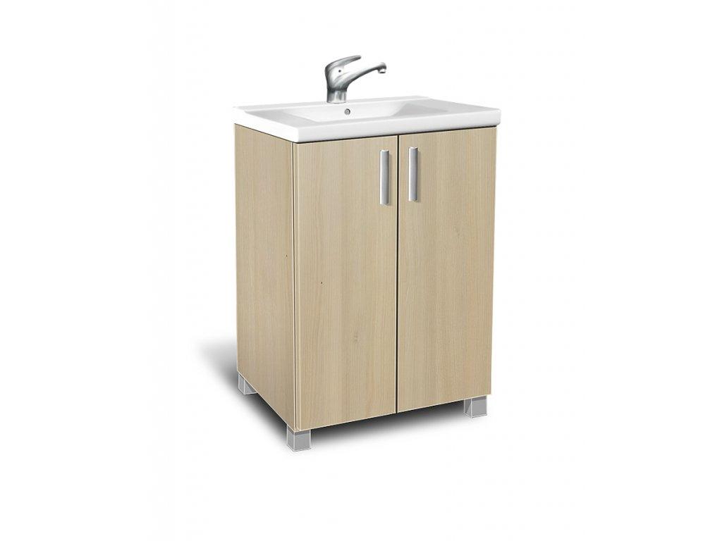 Koupelnová skříňka s umývadlem K22