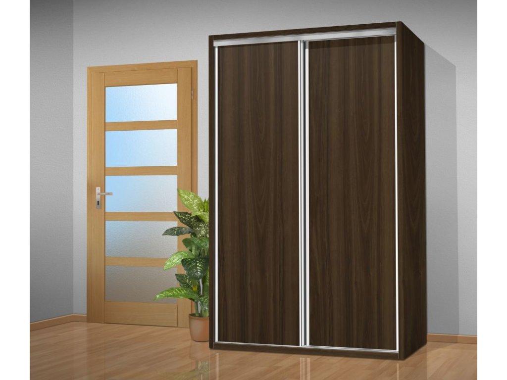 šatní Skříň Do Ložnice 215x140 Cm