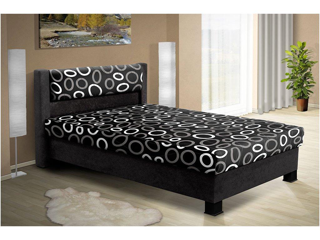 Čalouněná postel s úložným prostorem Nikol 120  + DÁREK - prostěradlo ZDARMA