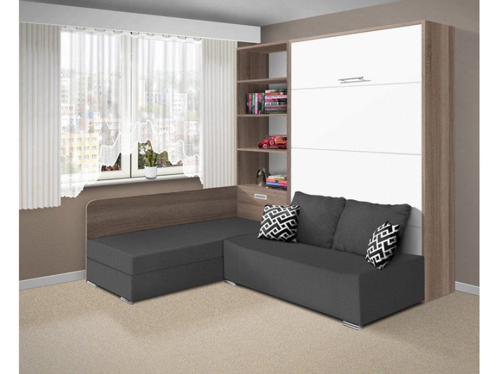 Sklápěcí výklopná postel 21075 - 180x200 cm