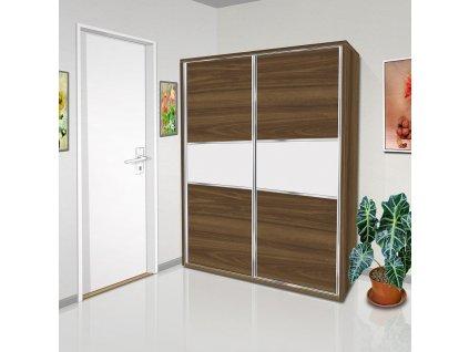 Šatní skříň s posuvnými dveřmi Beta 40