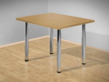 Jídelní stůl 120x80 cm s kovovými nohami