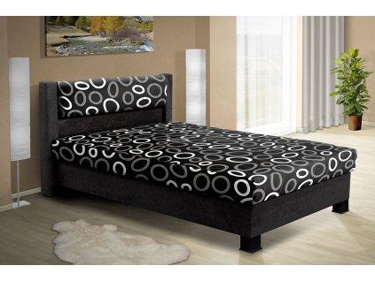 Čalouněná postel s úložným prostorem Nikol 120