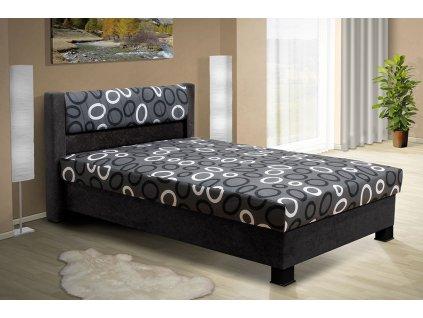 Čalouněná postel s úložným prostorem Nikol 140  + DÁREK - prostěradlo ZDARMA