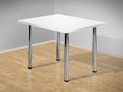 Jídelní stůl 140x80 cm s kovovými nohami