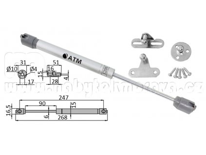 Automatická klopna 120N