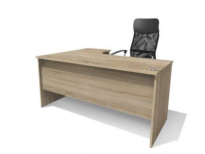 Kancelářský rohový stůl Alfa 87