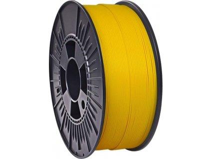 sytě žlutý