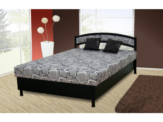 postel s úložným prostorem Xenie 140x200cm  + obraz zdarma