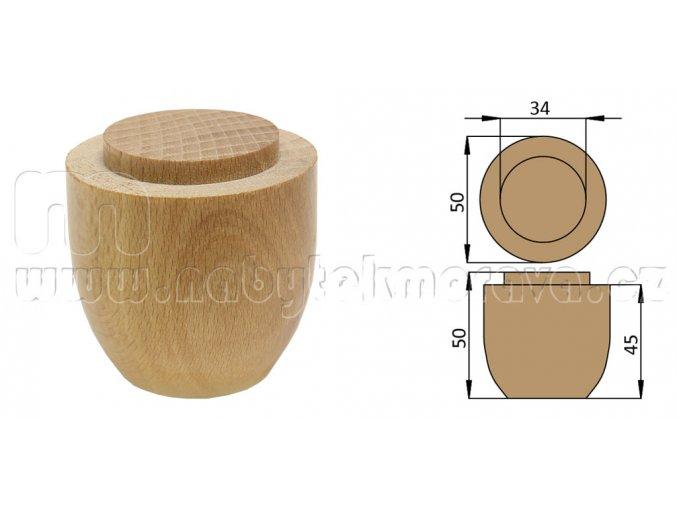 Dřevěná noha buková