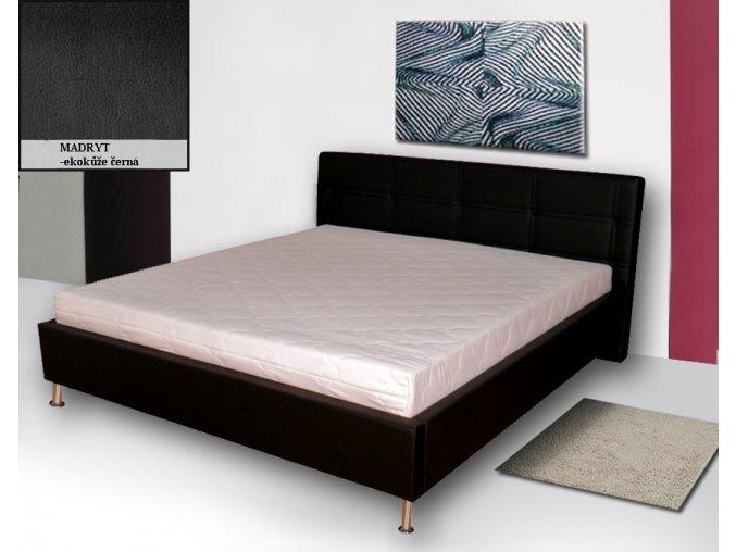 Luxusní postel Pusch 180x200cm  + obraz zdarma