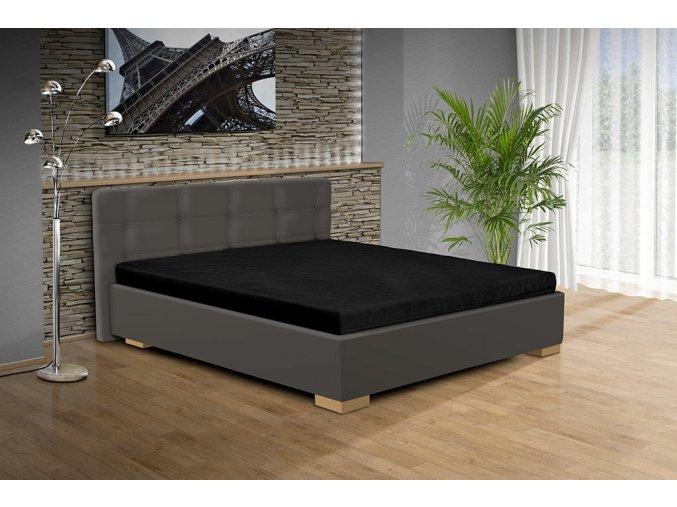 Manželská postel s úložným prostorem Alžběta  + Obraz zdarma