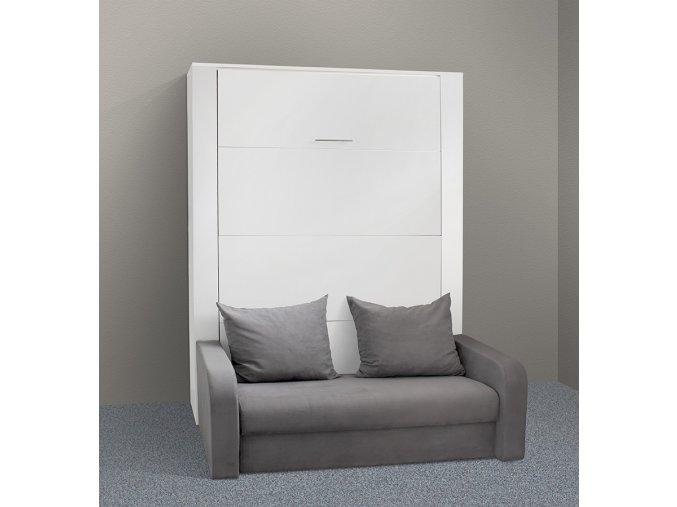 Výklopná postel s pohovkou VS 1059P, 200x160cm  + obraz zdarma
