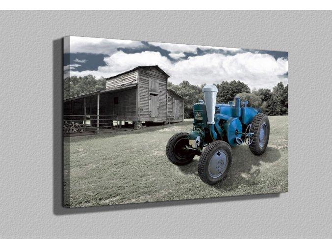 Moderní obraz traktor