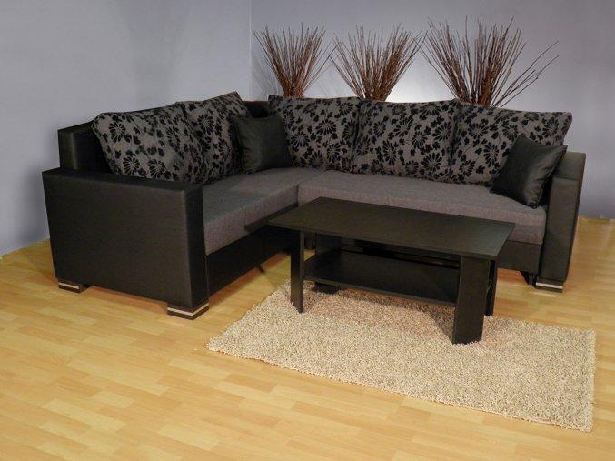 Rohová sedací souprava Rony + konferenční stolek