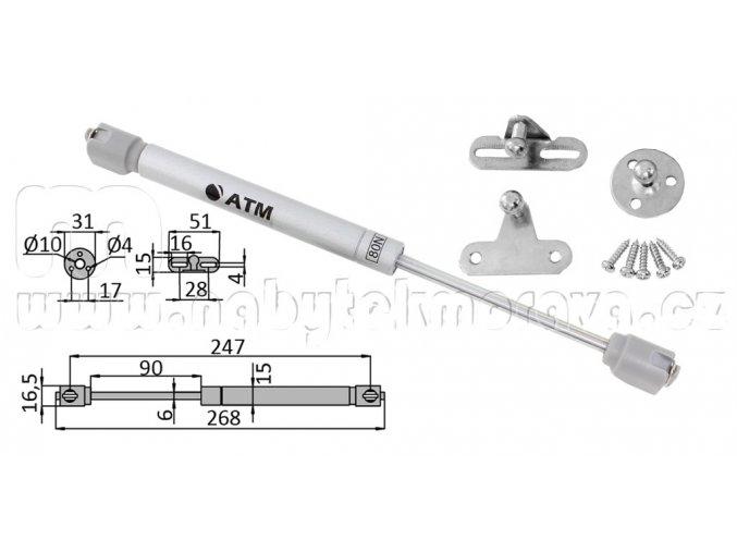 Automatická klopna 80N
