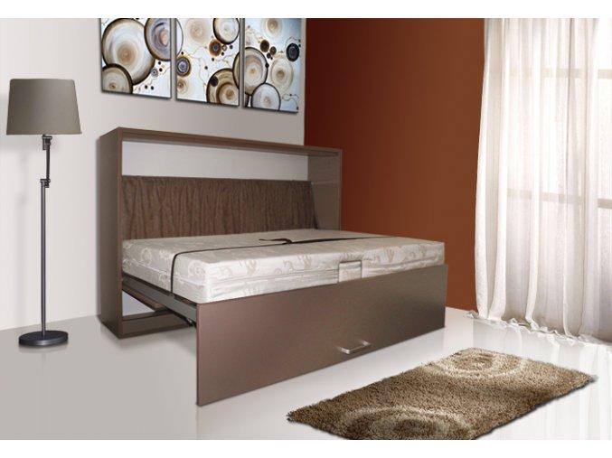 Výklopná postel VS1056P, 200x90cm + OBRAZ ZDARMA