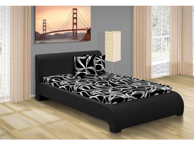 Luxusní postel 140x200 cm Seina  + obraz zdarma