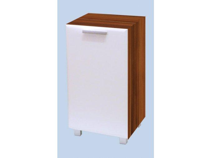 Koupelnová skříňka s košem Klára 12