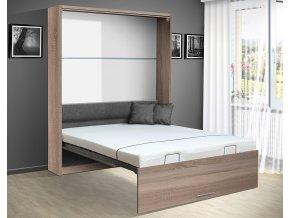 Výklopná postel VS 1054 P - 200x160 cm + OBRAZ ZDARMA
