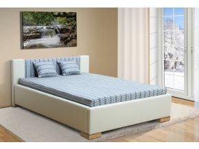 Čalouněná postel 140x200cm Marco + obraz zdarma