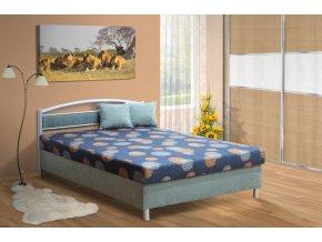 Polohovací postel s úložným prostorem Bruno 140x200 cm  + obraz zdarma