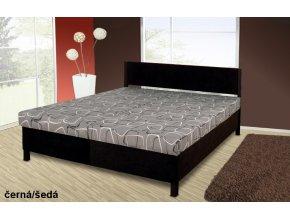 Manželská postel s úložným prostorem Sofie
