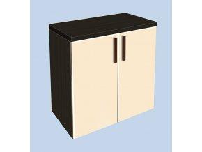 Závěsná koupelnová skříňka Kristýna 1