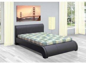 Luxusní postel 120x200 cm Seina s úložným prostorem