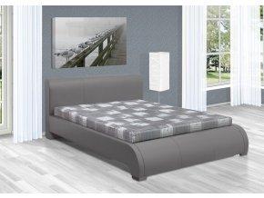 Luxusní postel 160x200 cm Seina s úložným prostorem