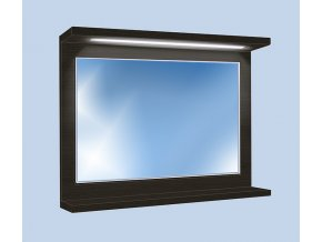 Závěsná koupelnová skříňka se zrcadlem Kristýna 16
