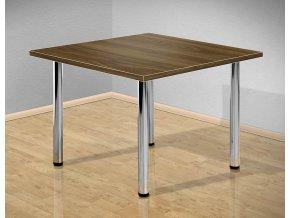 Jídelní stůl 80x80 cm s kovovými nohami